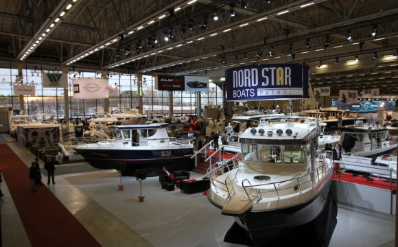 Helsinki Boat Show vue générale