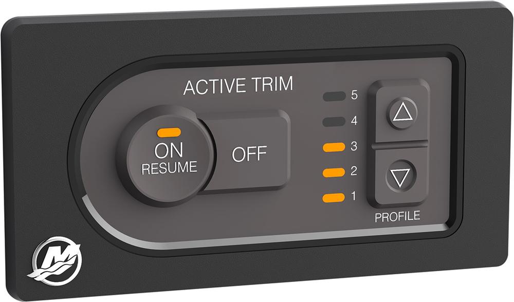 L'Active Trim en standard pour les moteurs Mercury à partir de 175 ch