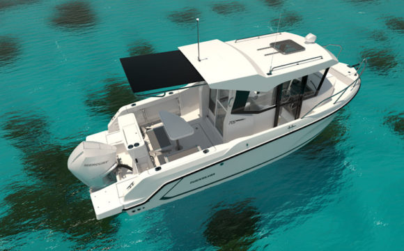 Quicksilver 705 Pilothouse - illustration