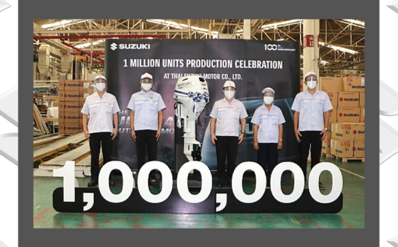 Suzuki 1 Million de moteurs usine