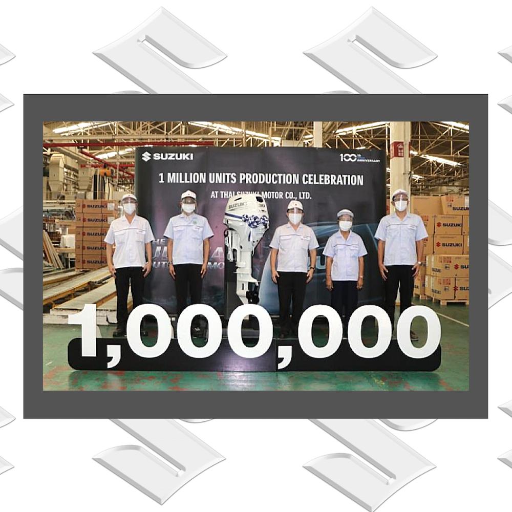 Suzuki passe le 1 000 000 de moteurs hors-bord produits en Thaïlande