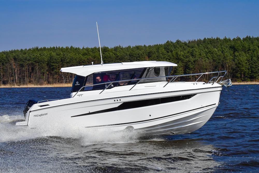 Parker 790 Explorer - tribord