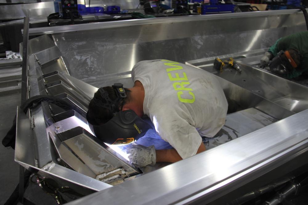 Usine Vexus ouvrier