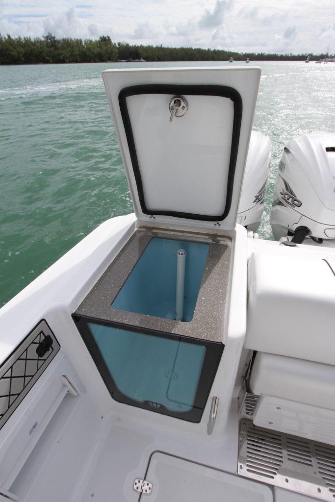 Wellcraft 402 Fisherman - vivier