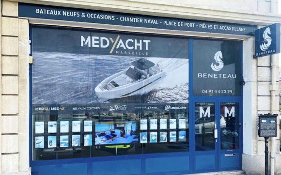 Medyacht Marseille vitrine