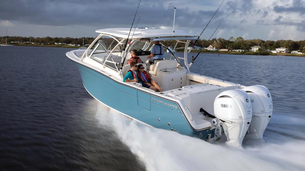 Yamaha V6 - fishing