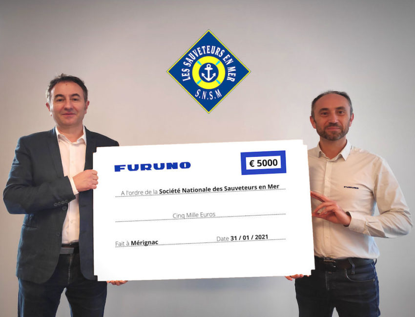 Furuno SNSM chèque 5000€