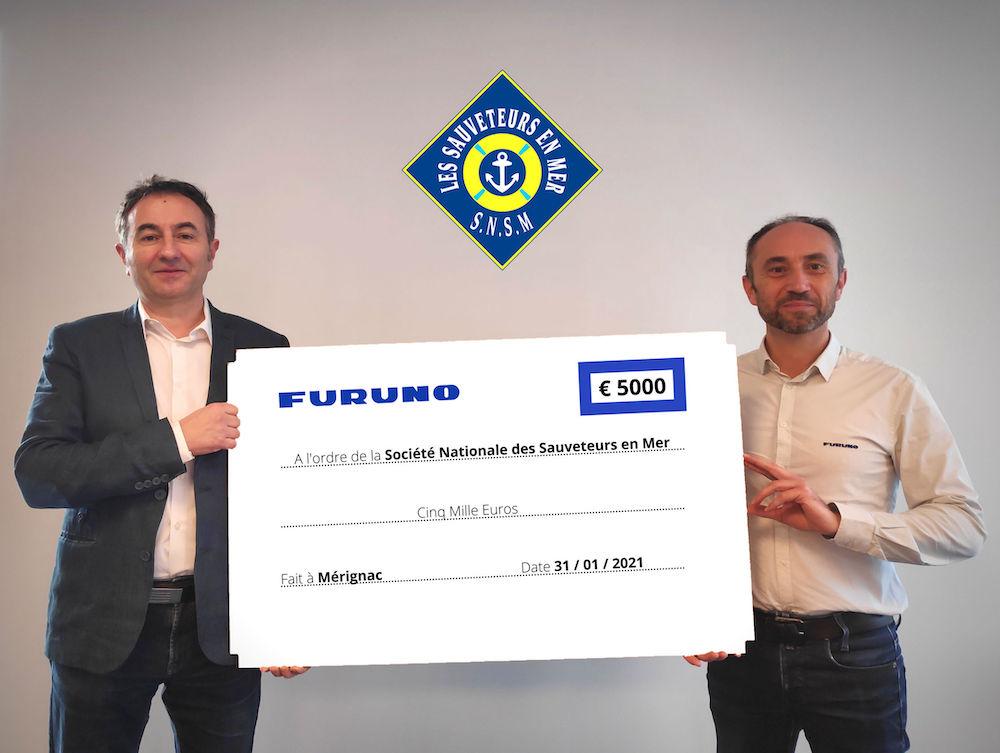 Furuno France partenaire de la SNSM