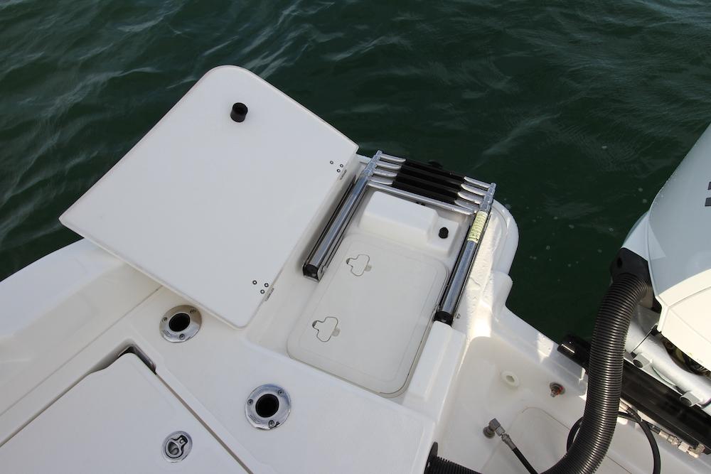 Boston Whaler 250 Dauntless_échelle