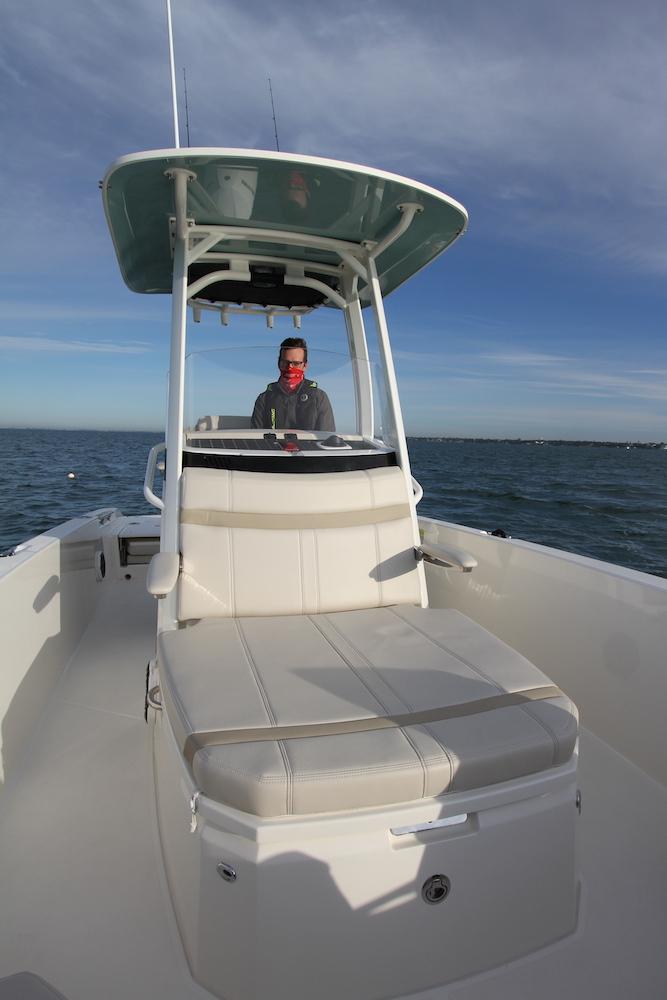 Boston Whaler 250 Dauntless_console avant