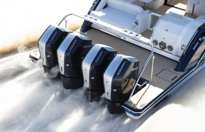 Mercury 600 ch Verado navigation
