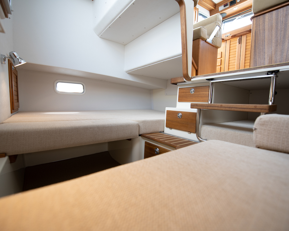 Targa 27.2 cabine double