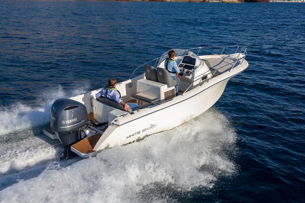 Partenariat entre White Shark et Yamaha
