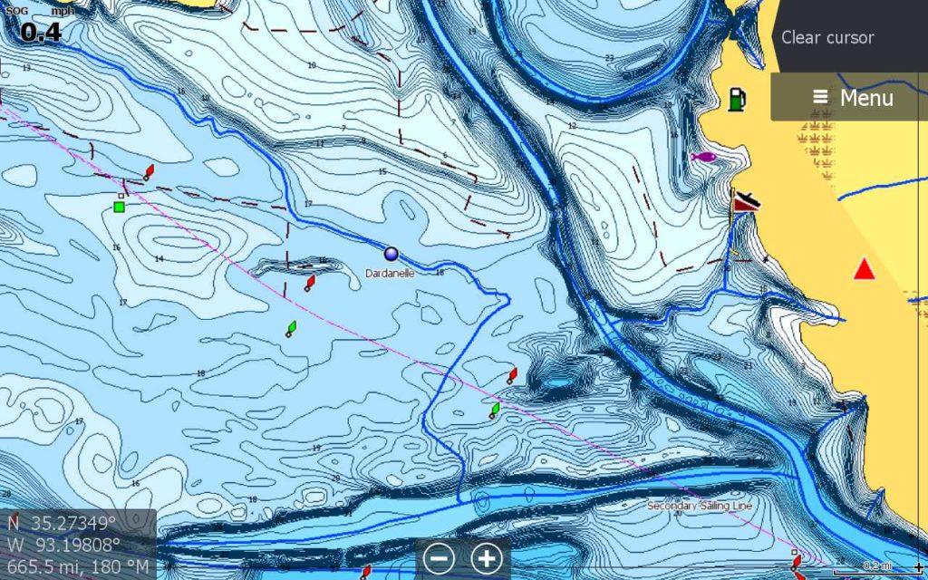 C-Map Discover carte