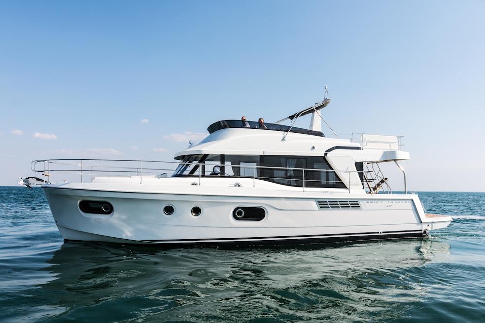 Essai Beneteau Swift Trawler 47, moderne, spacieux et performant