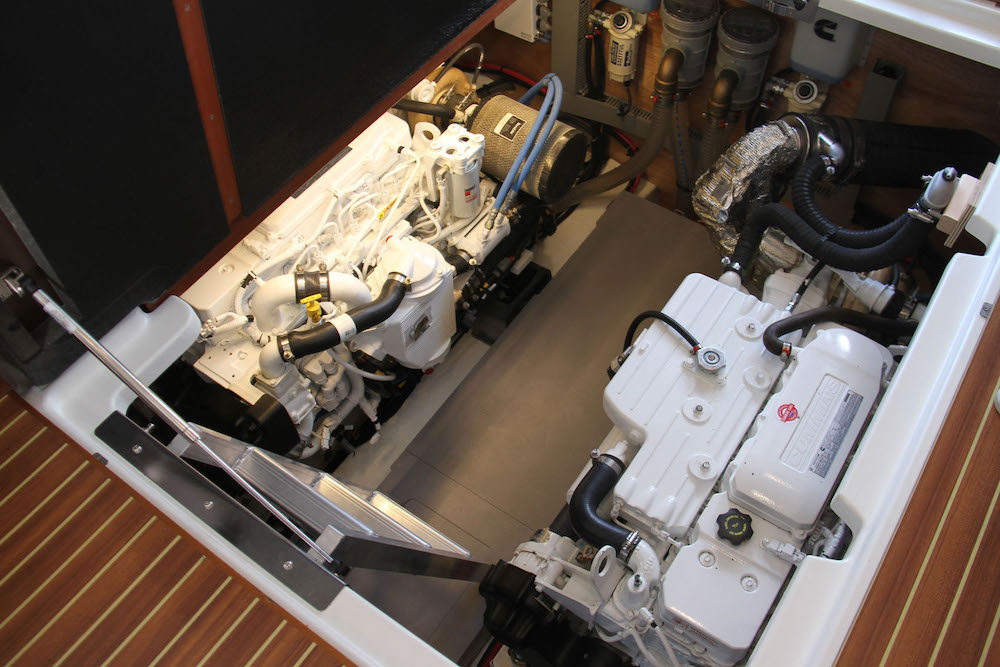 Beneteau ST 47 - moteurs