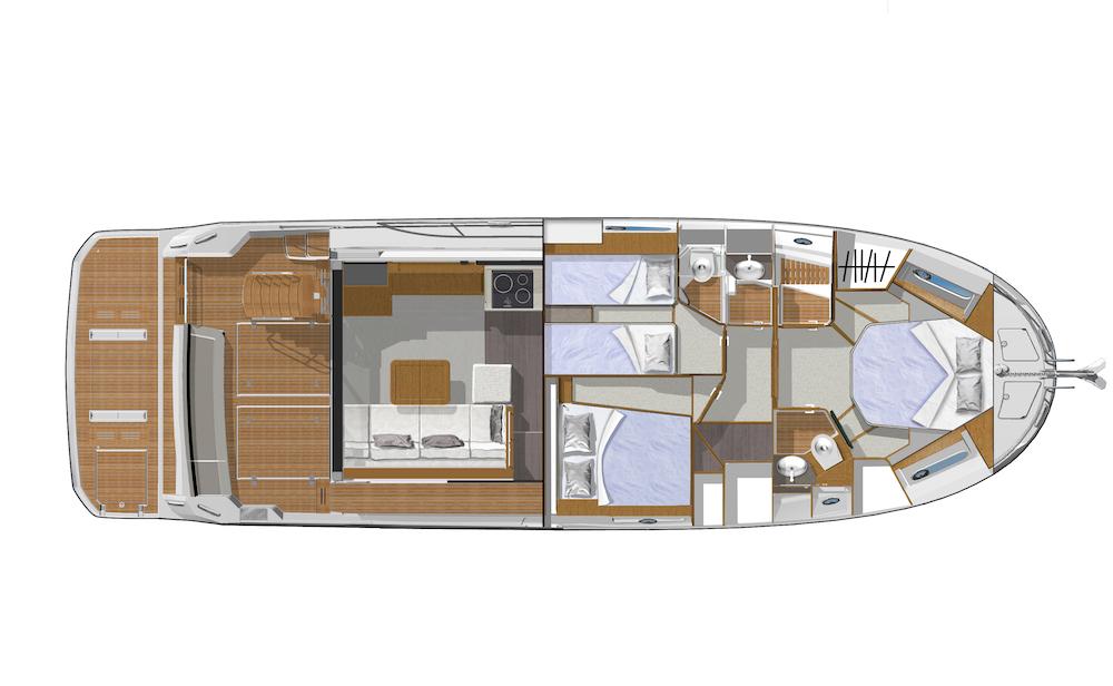 Beneteau ST 47 - plan