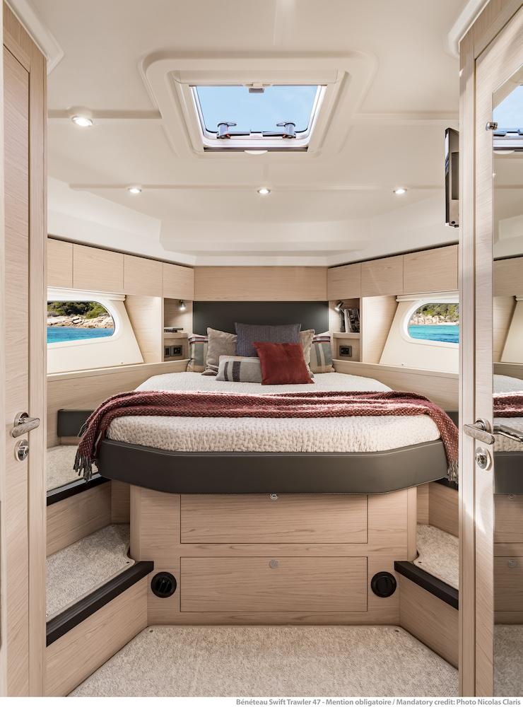 Beneteau ST 47 - cabine avant