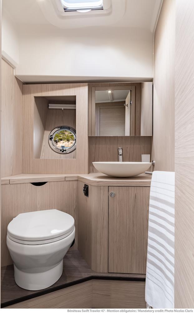 Beneteau ST 47 - salle d'eau