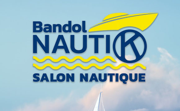 Affiche Bandol Nautique allongé