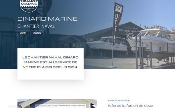 Dinard Marine site internet