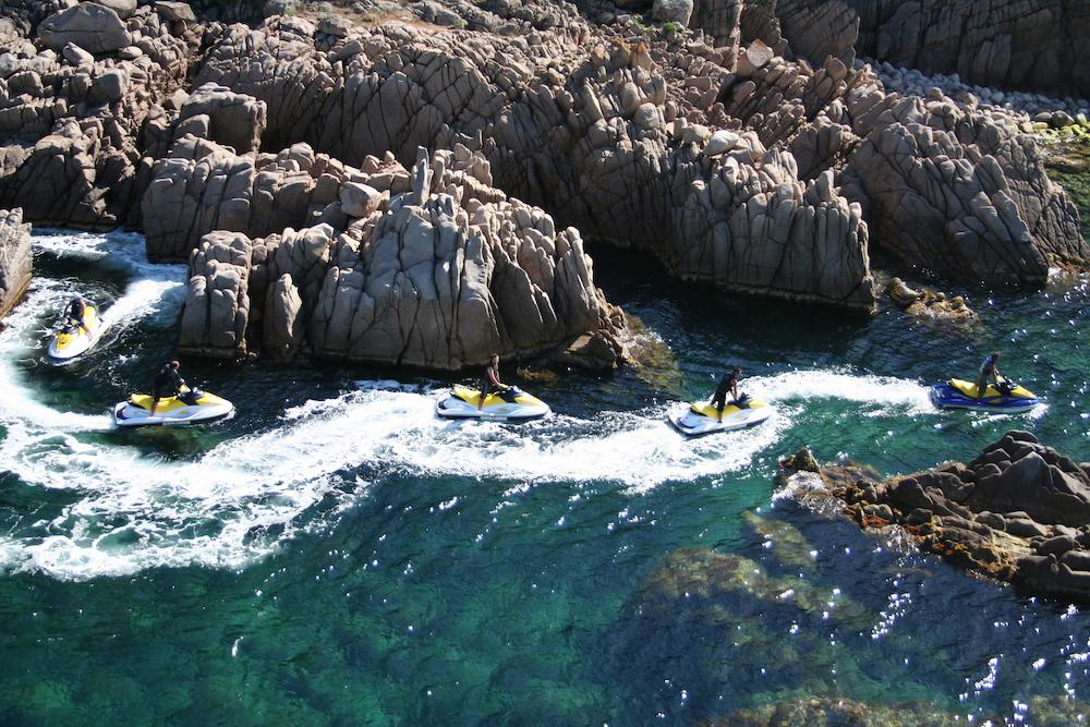 Navigation Corse rochers