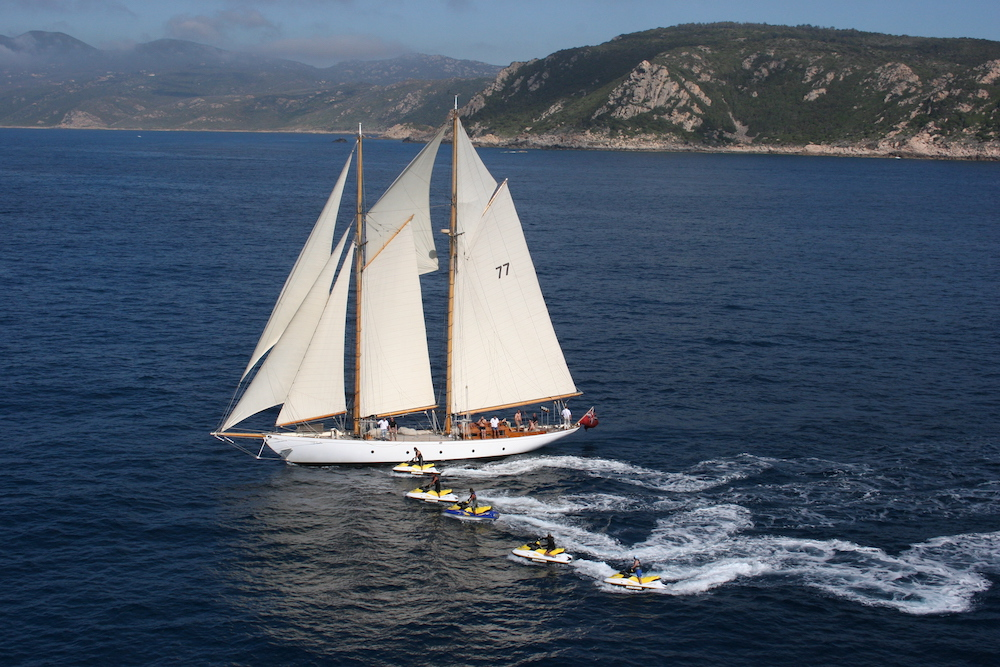 Navigation Corse voilier
