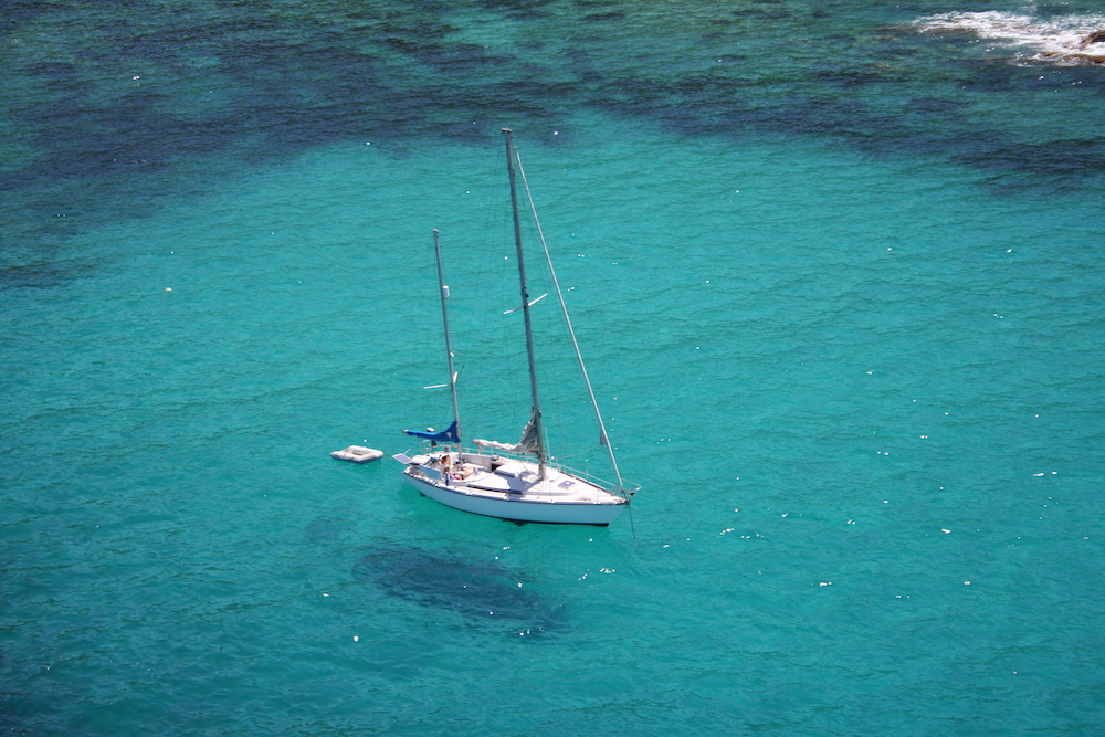 Navigation Corse mouillage