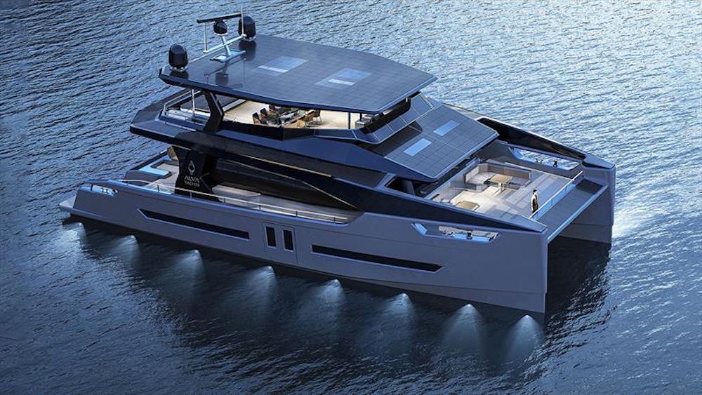 Dantes Yachts distribue Alva Yachts et de la personnalisation de yachts