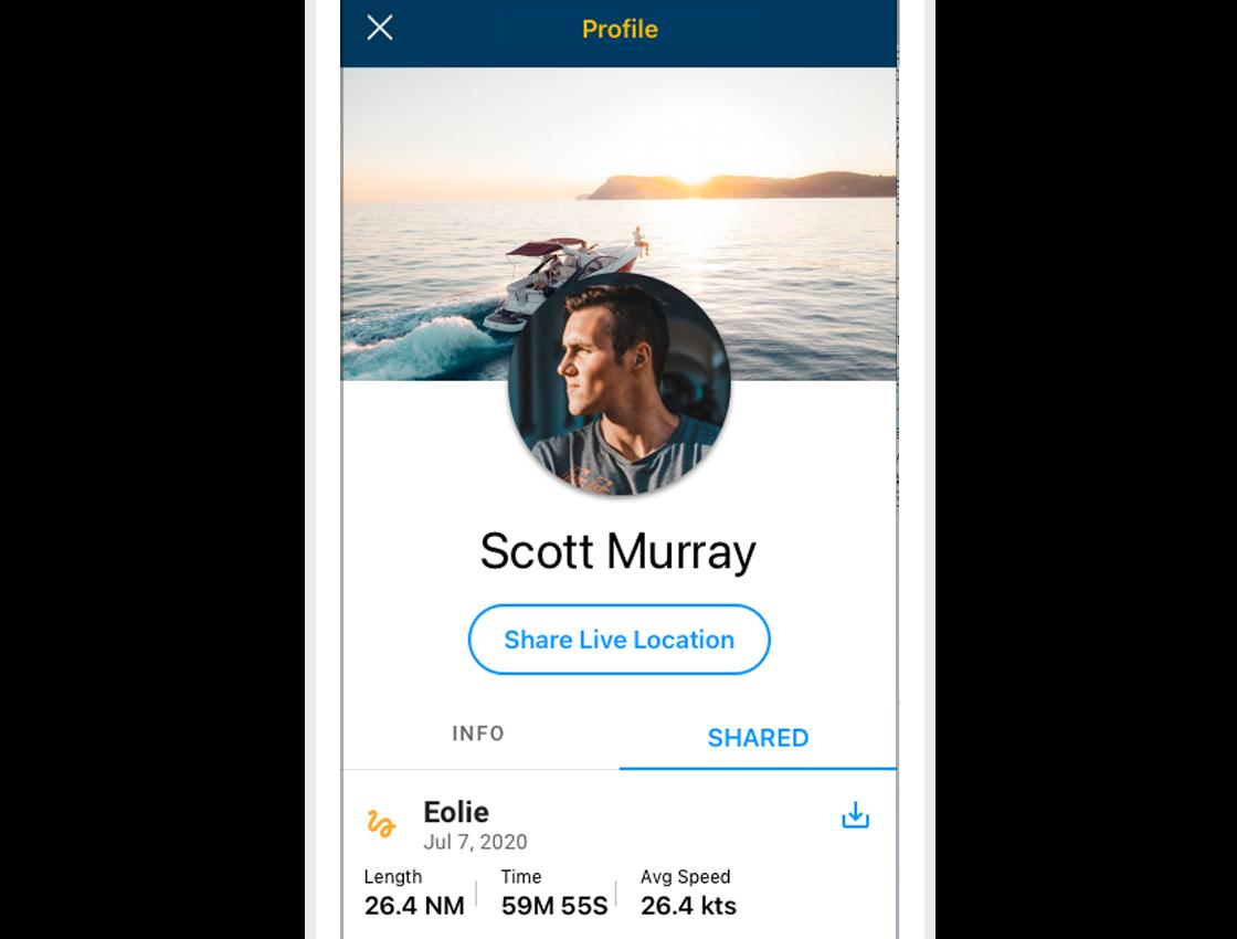 Navionics et la boating App