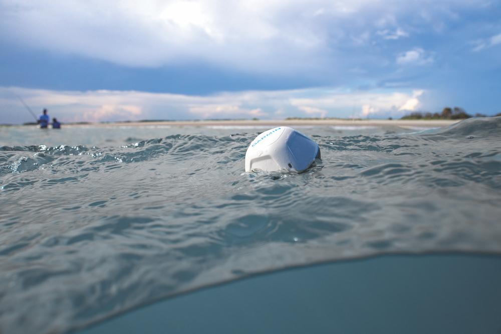 Garmin StrikerCast dans l'eau